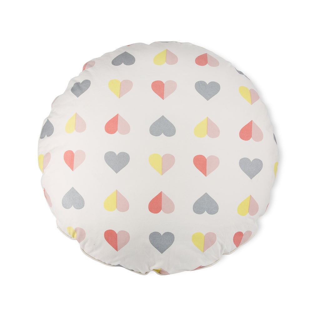 Hearts Floor Cushion