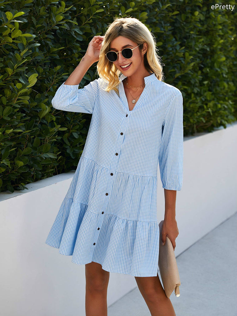 Gingham Dress - The Shop by Pyar&Co.