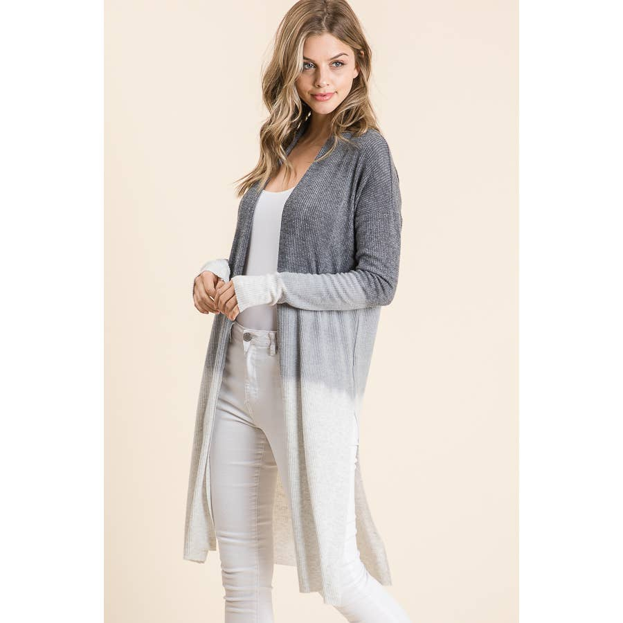 Gray Ombre' Cardigan