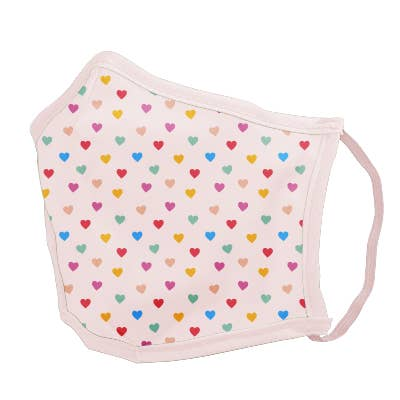 Tiny Hearts Reusable Cotton Face Mask