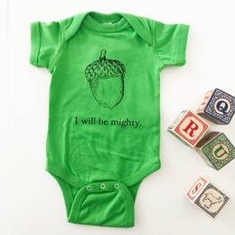 I Will Be Mighty | Baby Bodysuit