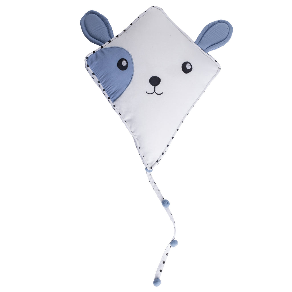 Light Blue Puppy Kite Mobile and Wall Decor