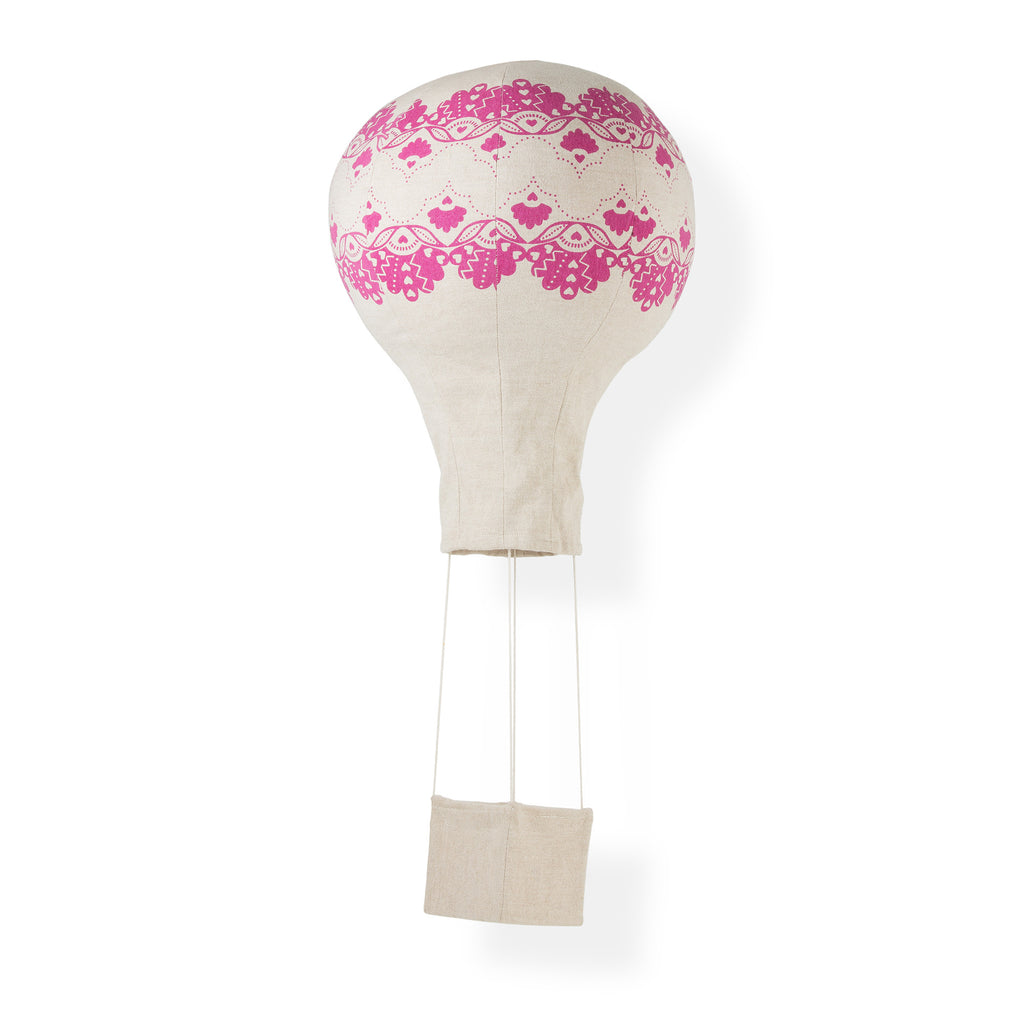 Crown of Lace Hot Air Balloon Mobile