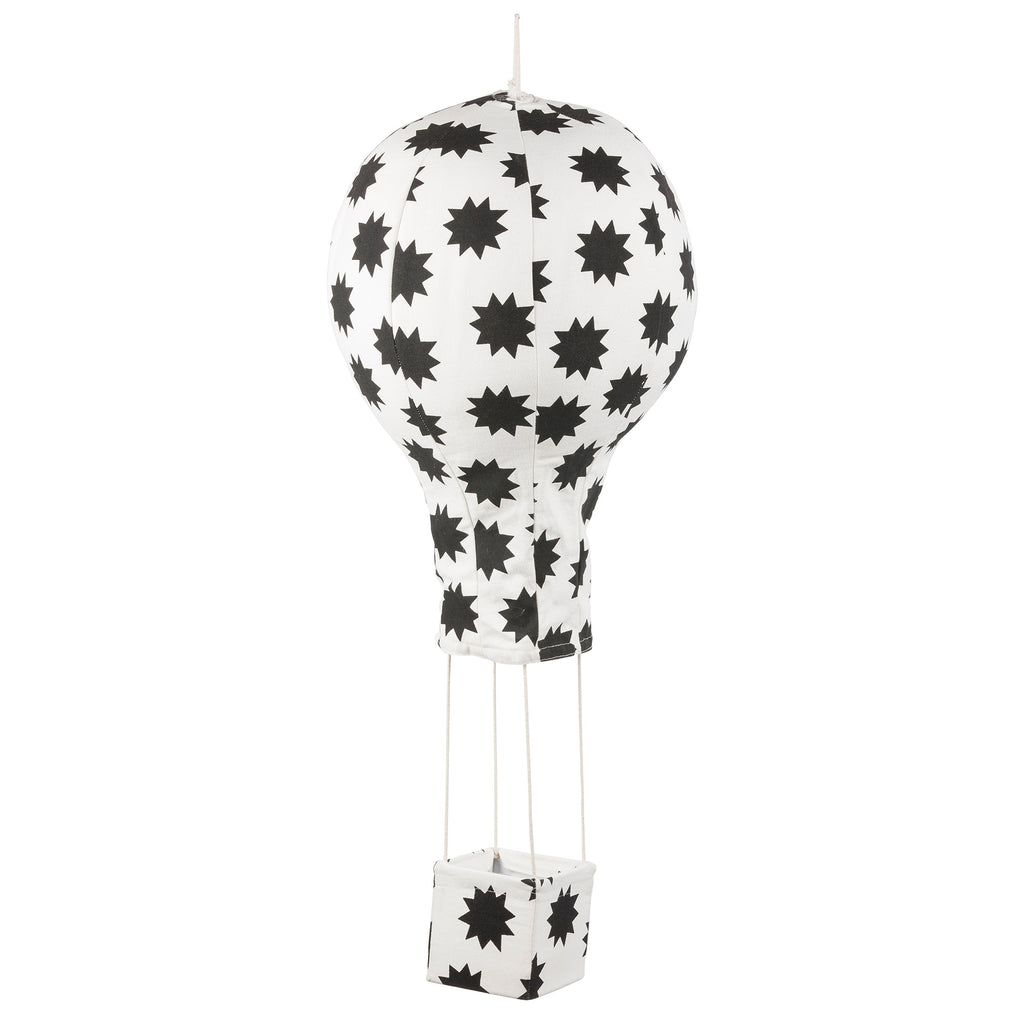 Lil' Pyar POW! Stars Hot Air Balloon Mobile, Black