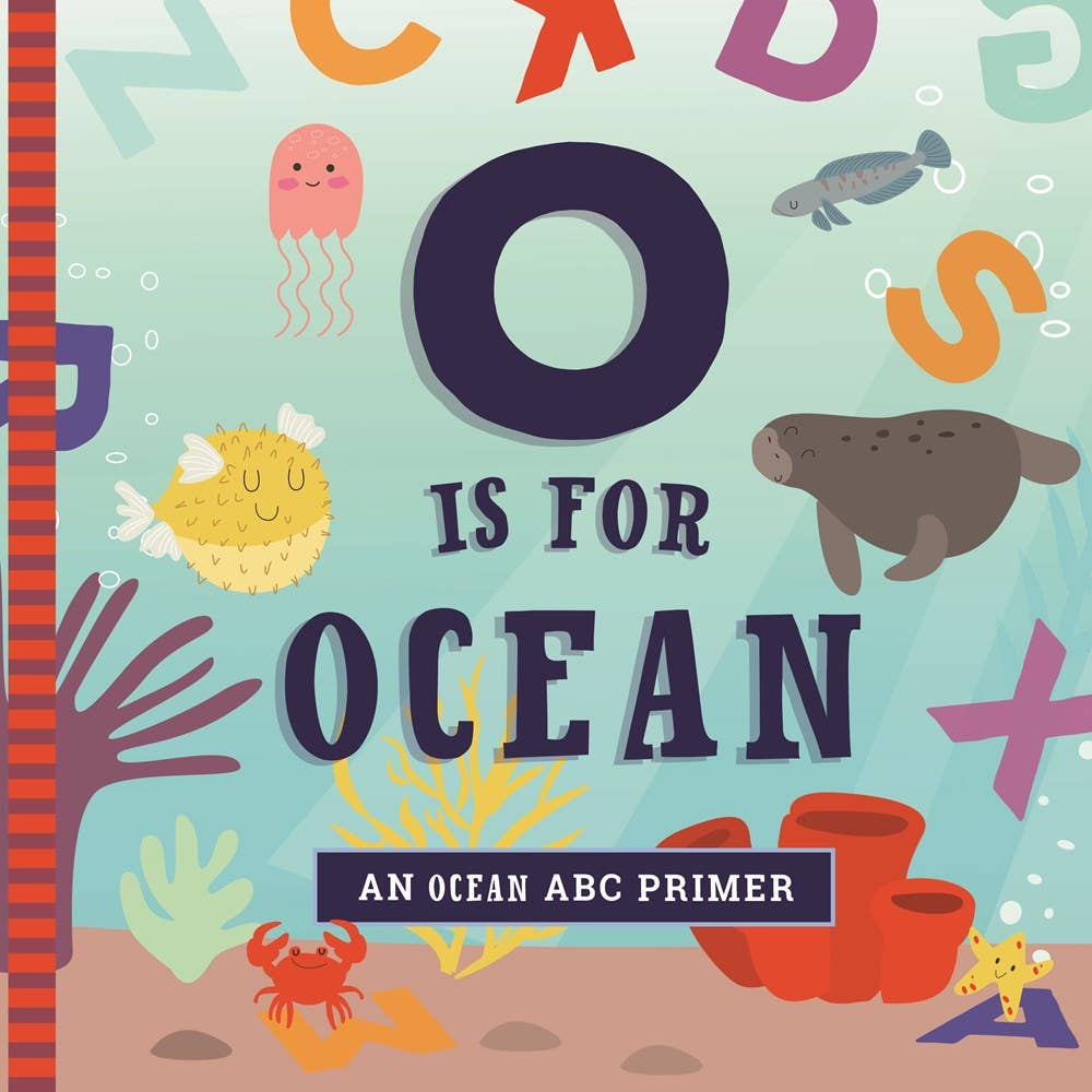 O is for Ocean Children's Book