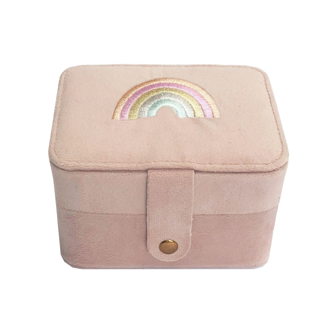 Rainbow Jewelry Box by Rockahula