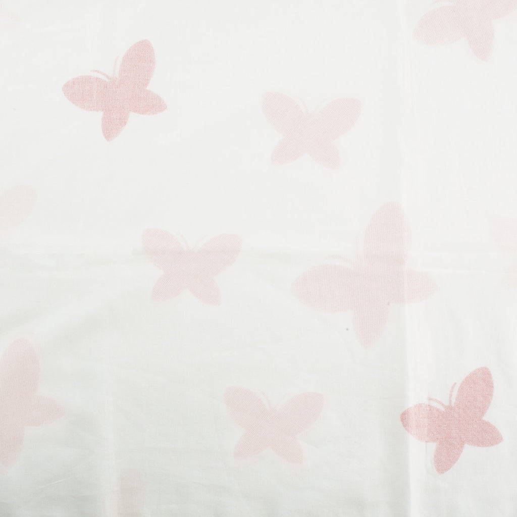 Lil' Pyar Butterfly Tanna Baby Blanket in Coral Print