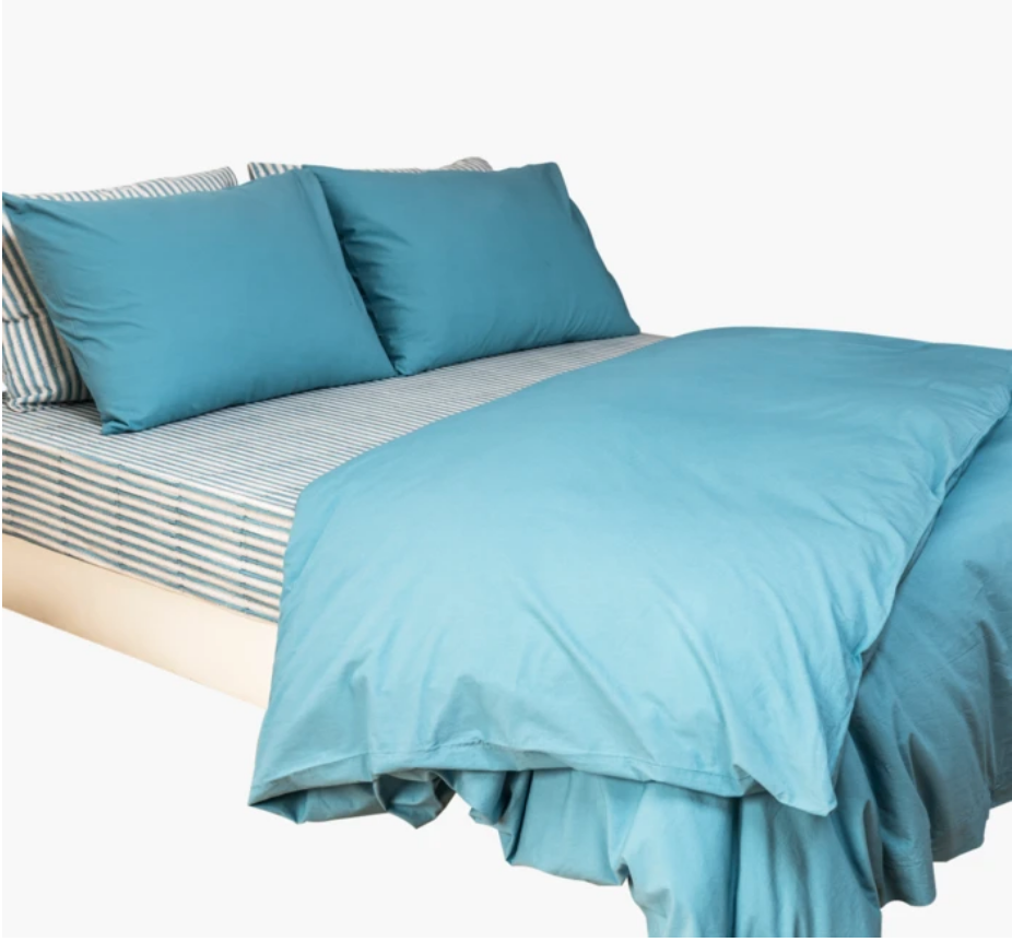 Turquoise Paradise Twin Bed Sheet Set