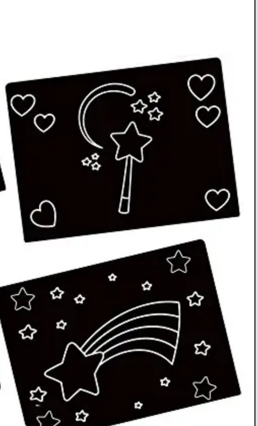 Stars Travel Placemat Pair