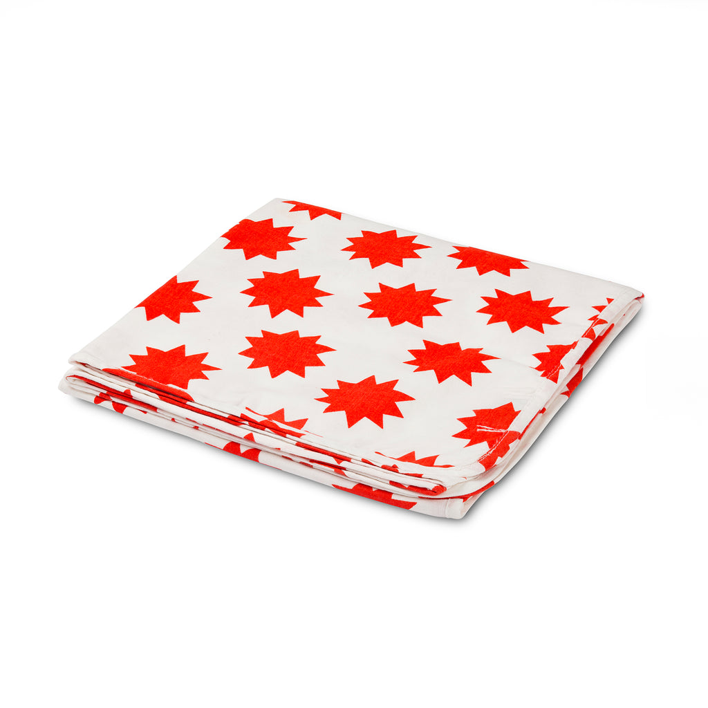 POW! Red Stars Tanna Blanket