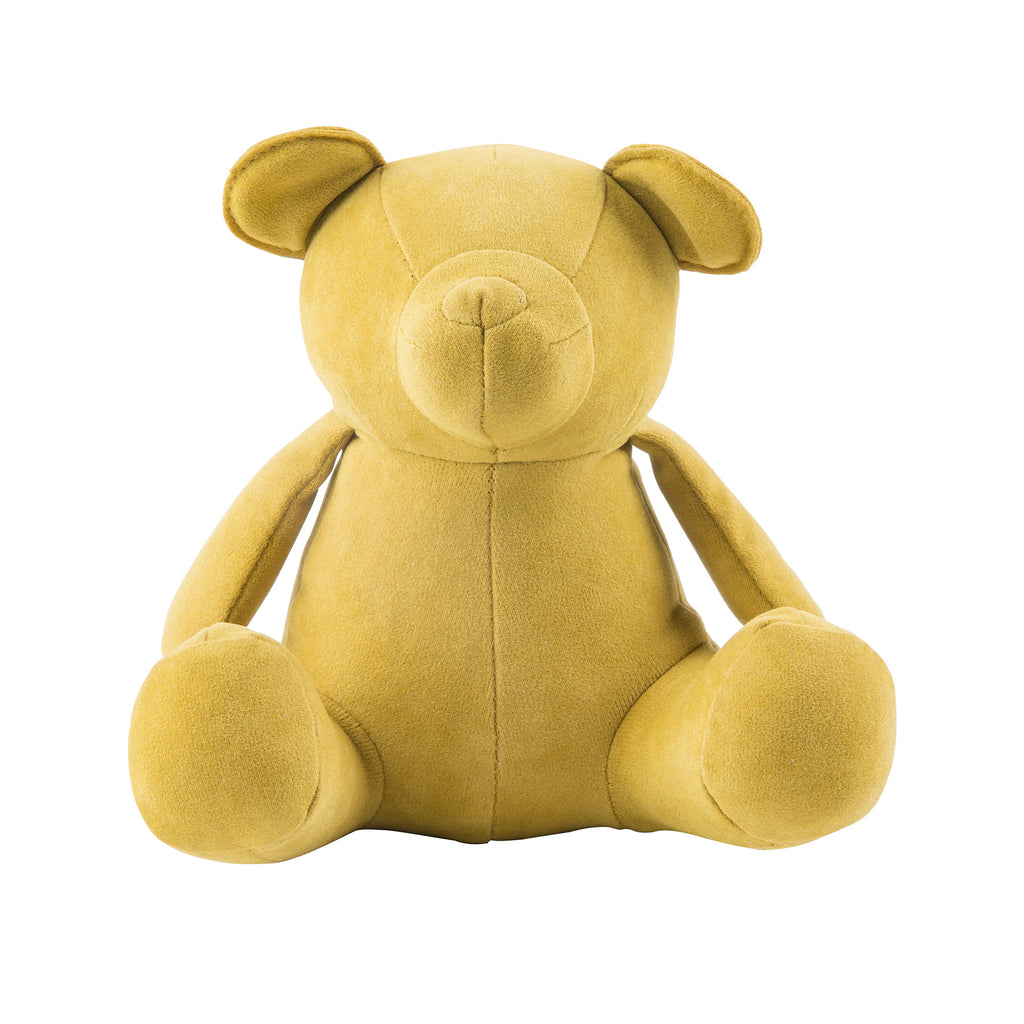 Mustard Teddy Bookend