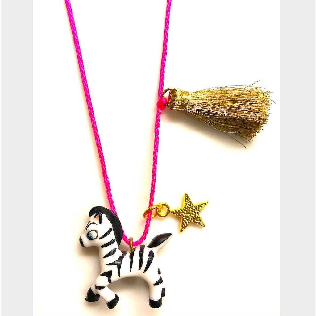 Holiday Reindeer Necklace by Gunner & Lux
