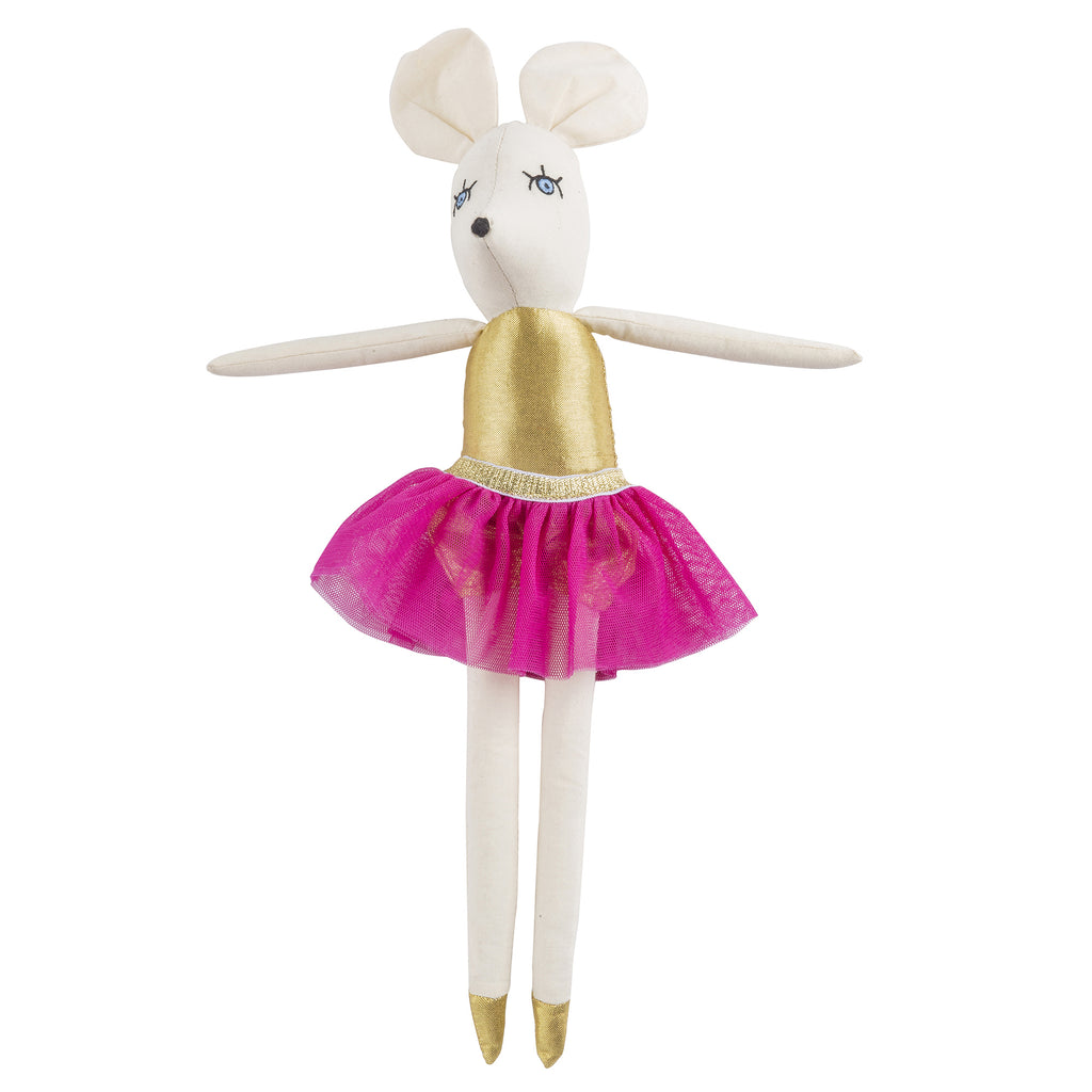 Mia Mouse Ballerina Doll by Lil' Pyar