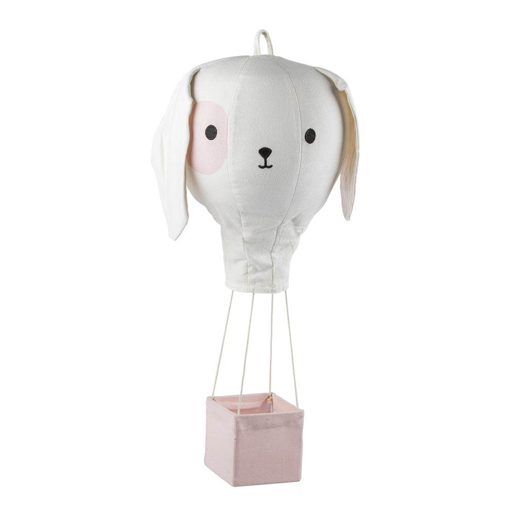 Pink Puppy Hot Air Balloon Mobile