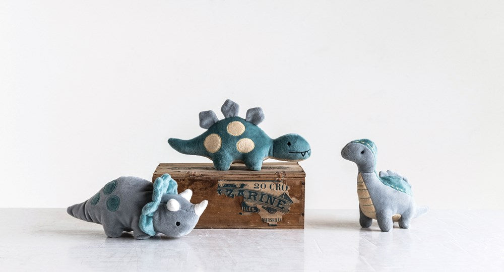Plush Dinosaur Rattle