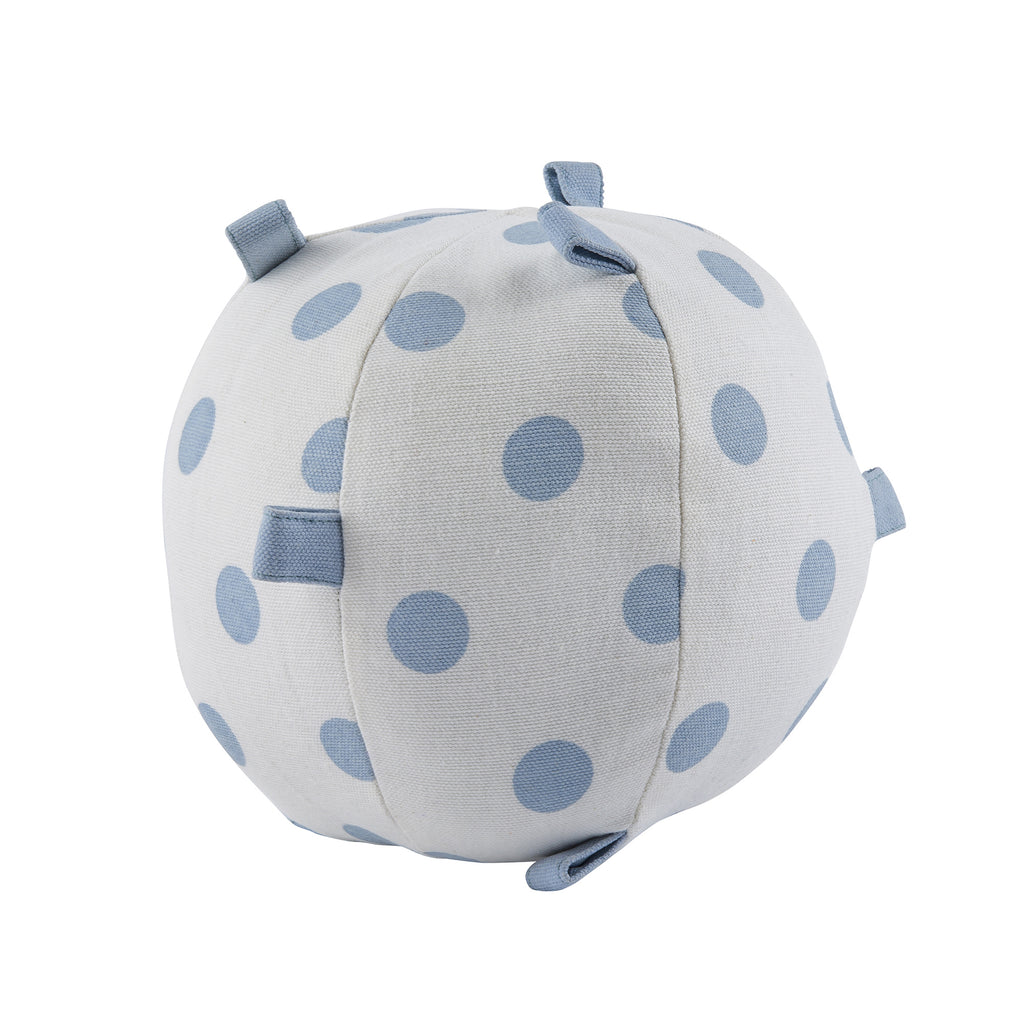Light Blue Polka Dot Sensory Ball