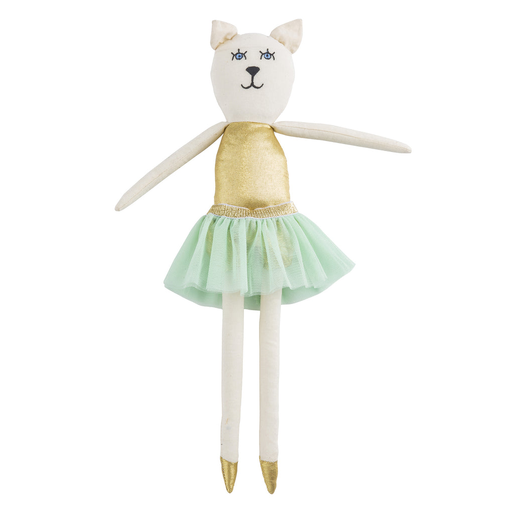 Cathy Cat Ballerina Doll by Lil' Pyar