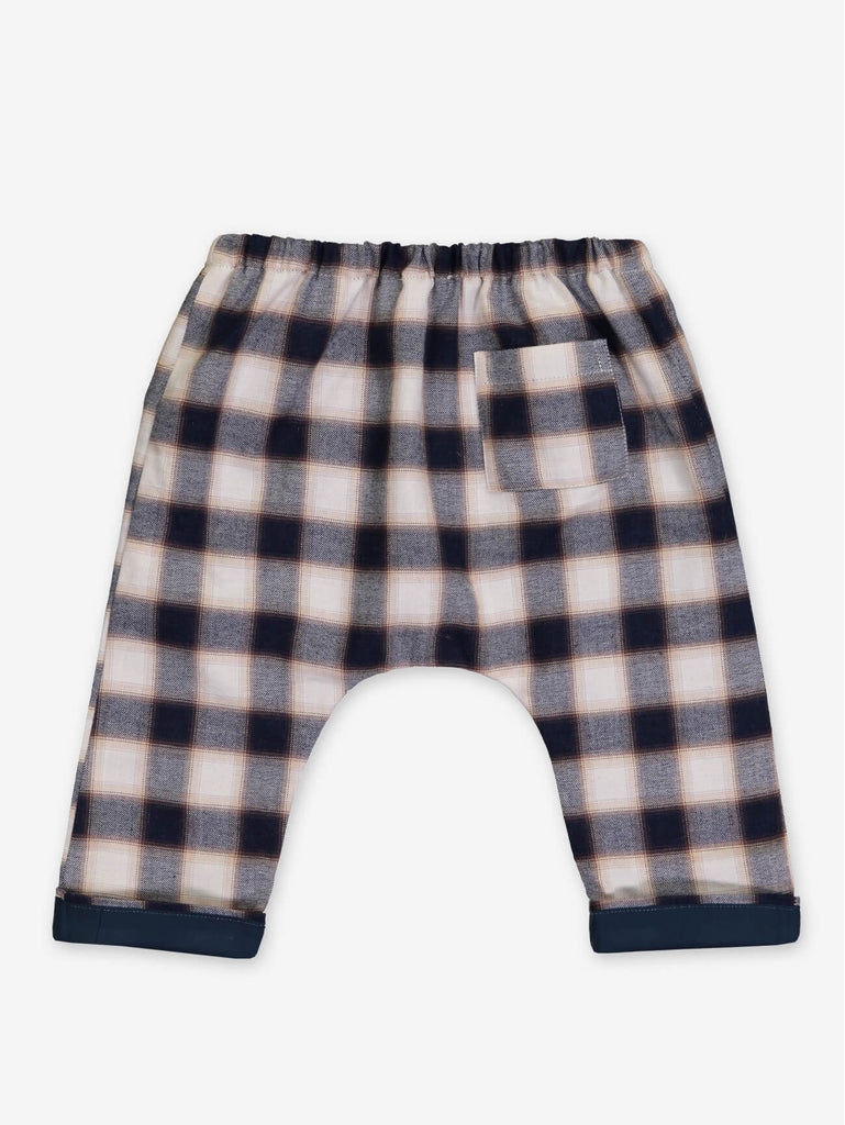 Fall Plaid Baby Pants by Petite Lucette