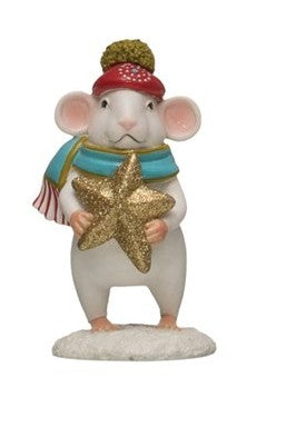 Mouse with Gold Star