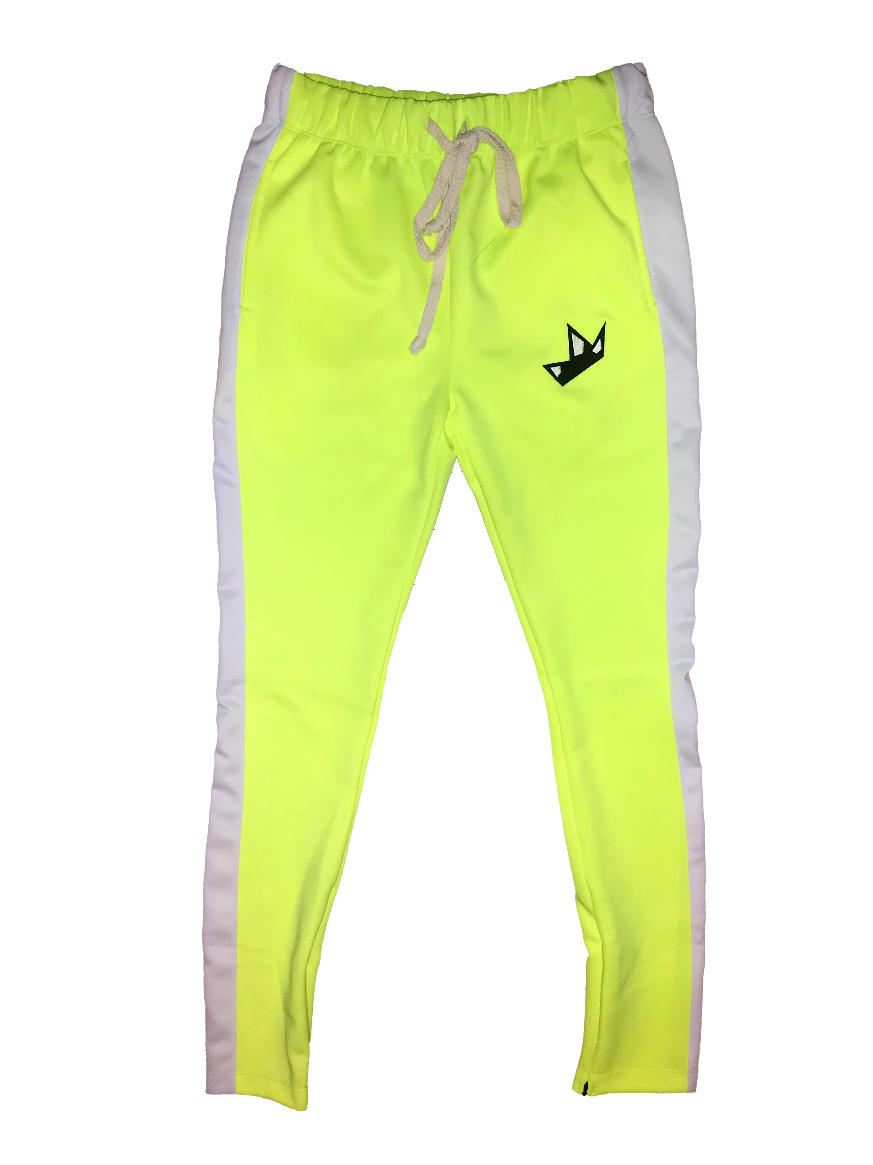 """Look On The Bright Side"" Track Pants"
