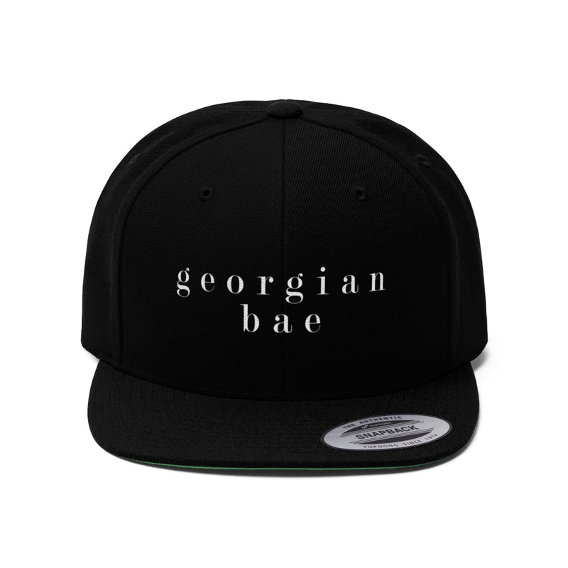 Georgian Bae Flat Bill Snapback