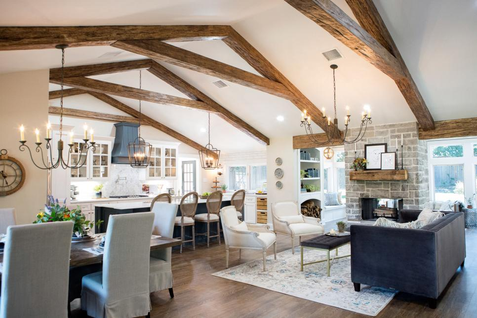 Fixer Upper Beams Project with Chip & Joanna Gaines