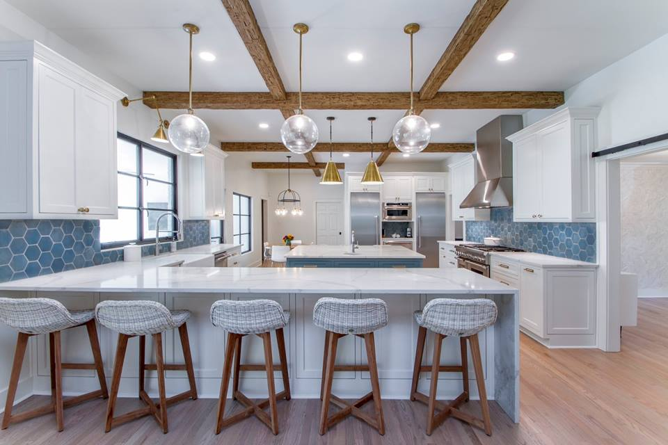 How To Integrate Ceiling Beams Into Your Kitchen