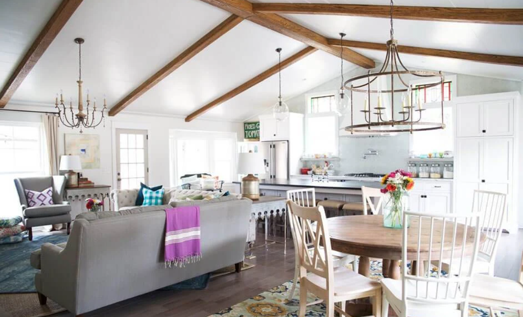 How To Use Faux Reclaimed Wood Beams