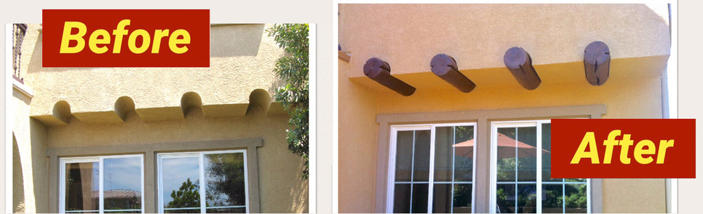 Faux Viga Tail Install in Carlsbad, CA [FEATURED PROJECT]