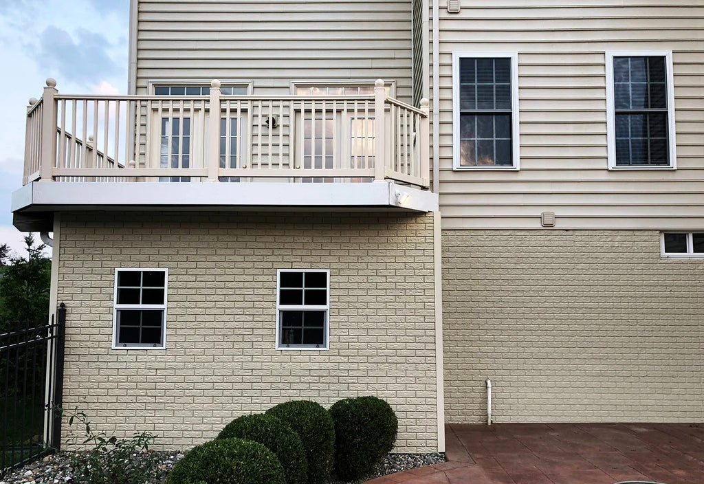Installing Faux Brick Panels On An Exterior