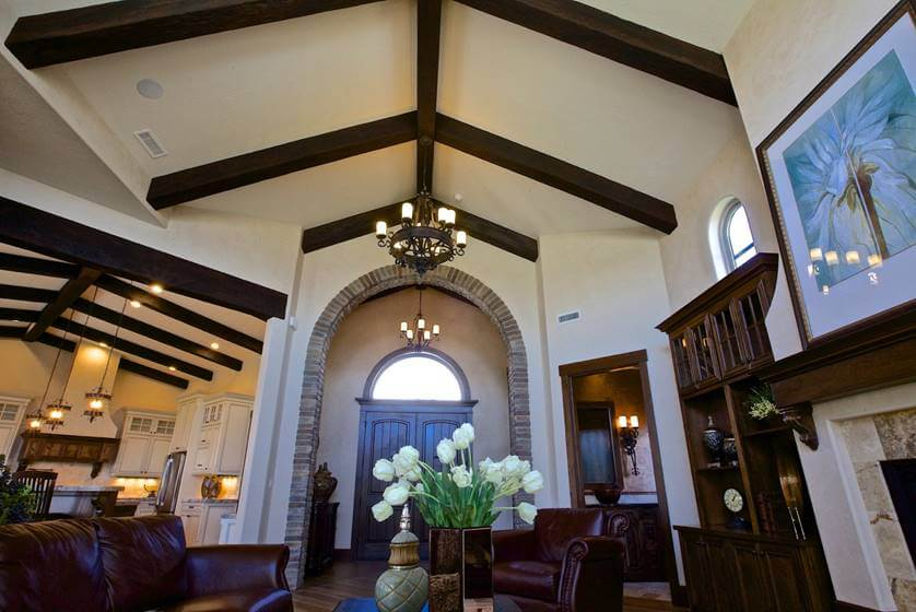 When To Use Faux Beams Instead Of Real Wood Beams