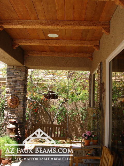 Faux Wood Beams For Outdoor Use