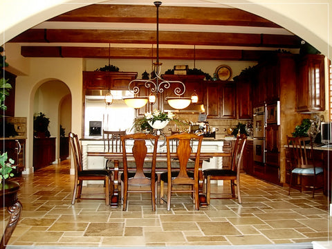 Faux Wood Beam Designs for Kitchen