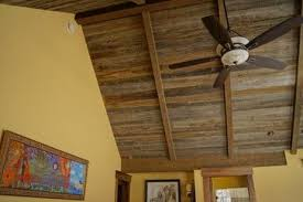 Faux Wood Beams In The Bedroom - Rafters