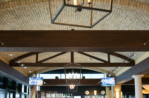 Faux Wood Beams in Commercial Design - Restaurants