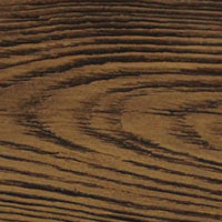 Finished Color Options for Faux Wood Products - Sandblasted Fall Leaf Brown