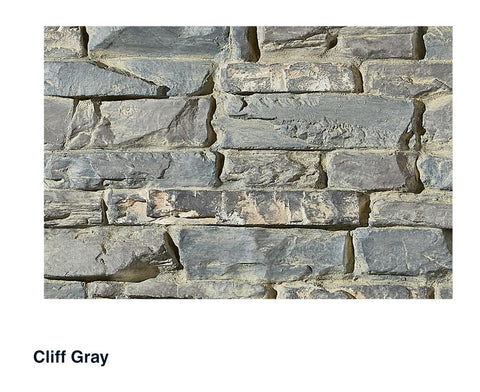 Billings Faux Stone Panel Samples