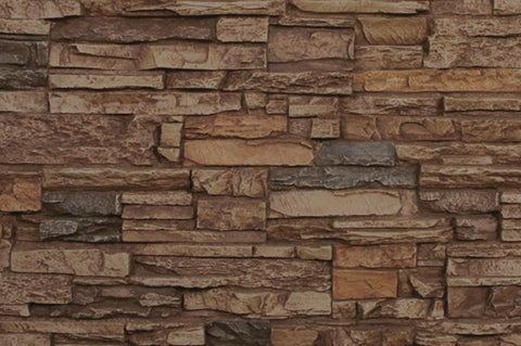 Sedona Faux Stone Panel Samples