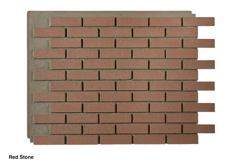 Contemporary Faux Brick Panels