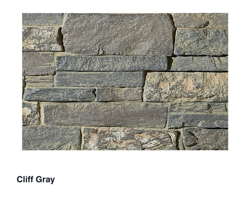 Fargo Faux Stone Panel Samples