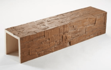 Old Tuscan Custom Unfinished Faux Wood Beam 12‰۪-15‰۪ - AZ Faux Beams
