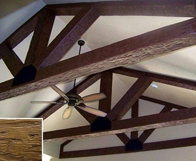 Hand Hewn Custom Finished Faux Wood Beam 12‰۪-15‰۪ - AZ Faux Beams