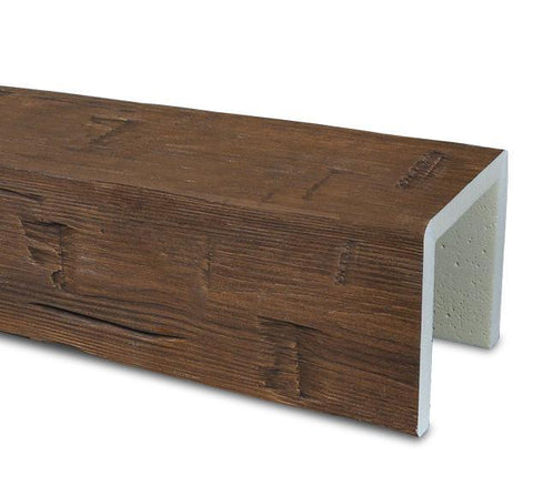 Hand Hewn Faux Beam Samples Faux Beam Samples Old World Traditions Walnut