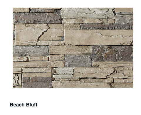 Lexington Faux Stone Panel Samples