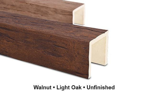 Magnolia Faux Beam - Quick Ship - UNFINISHED Faux Beams Old World Traditions