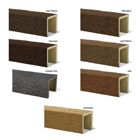 Hand Hewn Faux Wood Planks