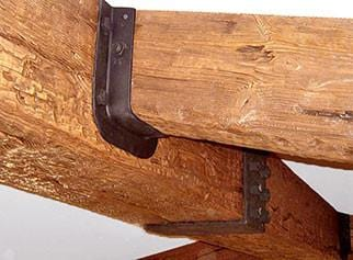 Rustic Quick Ship Faux Wood Beam 4 Sided Reinforced Az