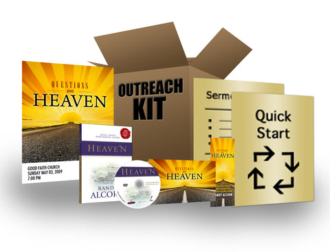 Heaven Outreach Kit by Randy Alcorn