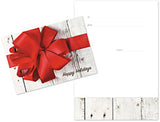 Gift Card in Holiday Package