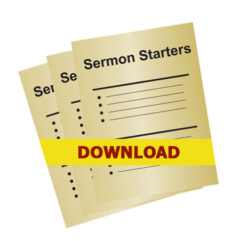 Ephesians Session Outlines - Special